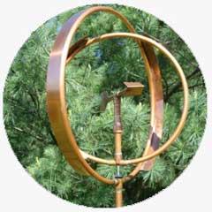A copper art fixture